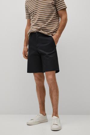 regular fit short zwart