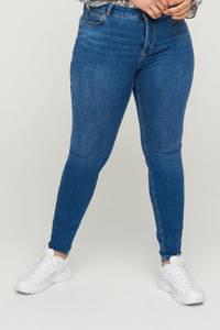 Zizzi push-up skinny jeans JPOSH AMY  dark denim, Dark denim