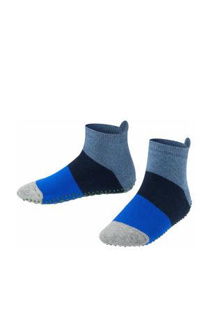 Colour Block sokken blauw/donkerblauw