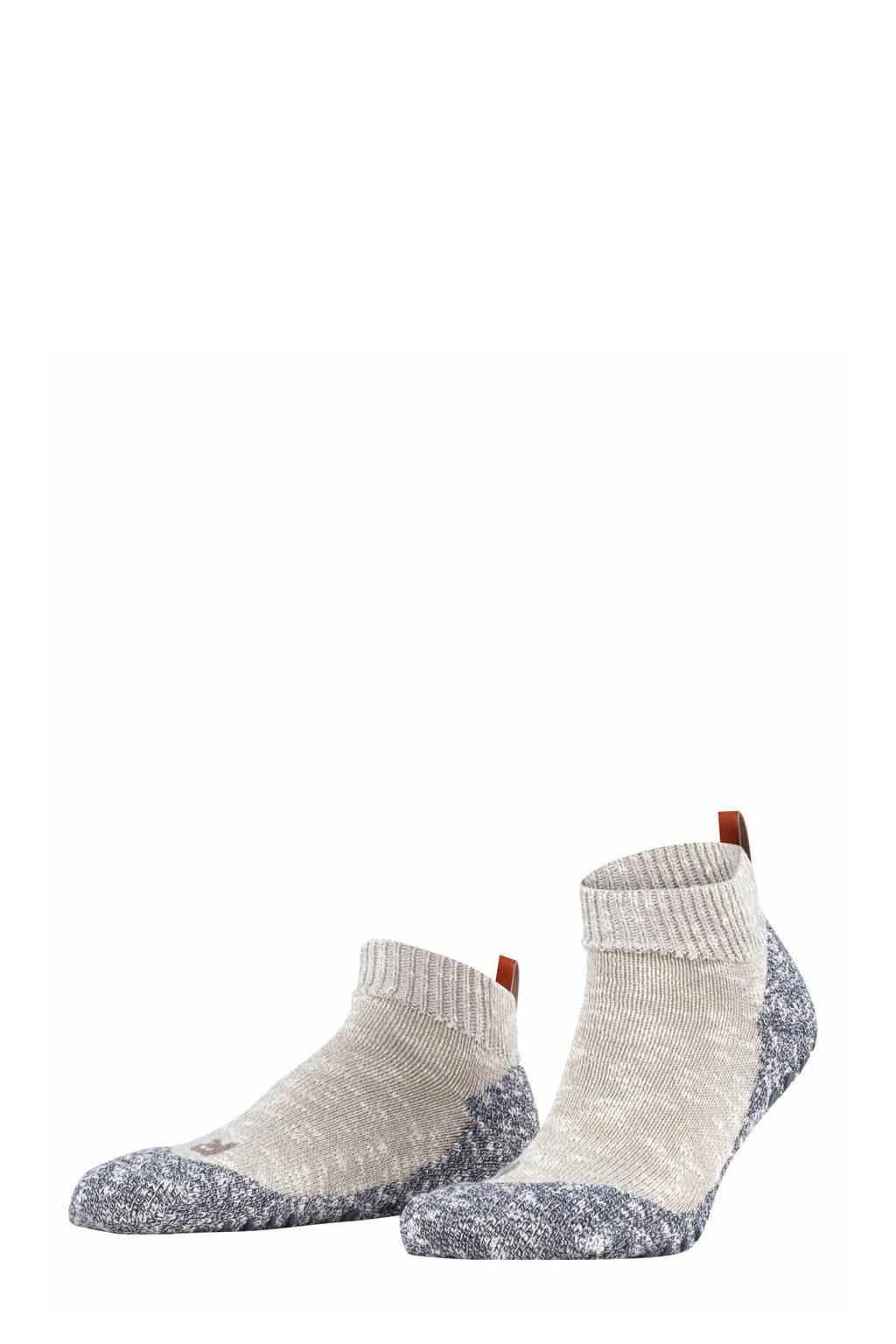 FALKE Lodge Homepad pantoffels beige/grijs, Beige/grijs