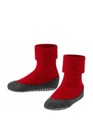 Cosyshoe pantoffels rood kids