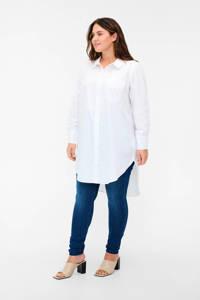 Zizzi blouse MJALA wit, Wit