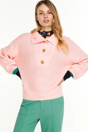 gebreide trui Pink Blush roze
