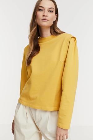 sweater Kasuga lichtgeel