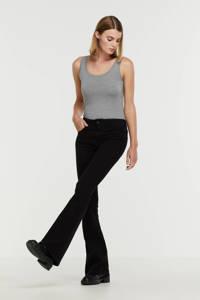 Lois high waist flared jeans Raval-16 zwart, Zwart
