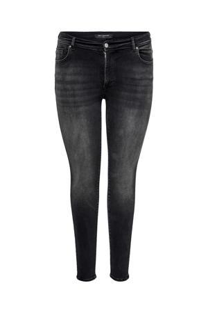 high waist skinny jeans CARMAYA antraciet