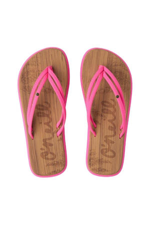 Ditsy Sandals  teenslippers roze