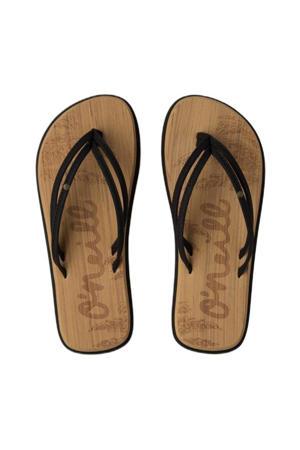 Ditsy Sandals  teenslippers zwart