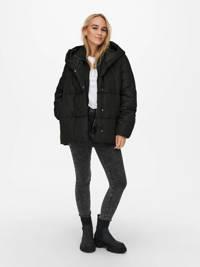 ONLY gewatteerde jas ONLAMY zwart, Zwart