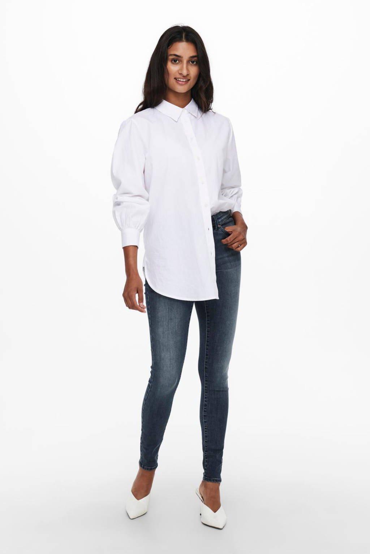 ONLY skinny jeans ONLWAUW blue black denim