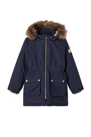 winterjas Mabe donkerblauw