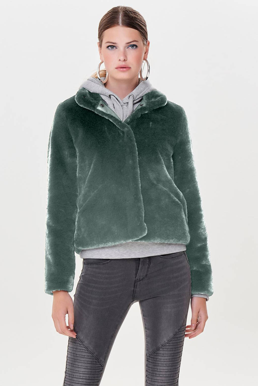 ONLY jas ONLVIDA groen, Groen