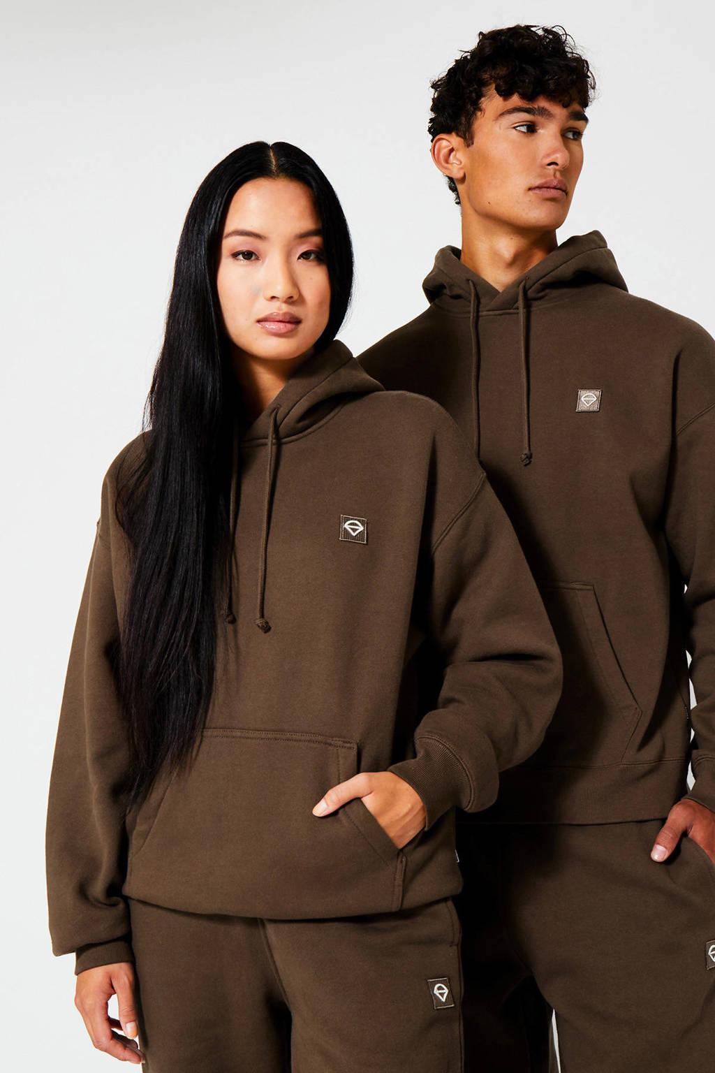 America Today sweater Sierra Hood faded brown, Faded brown