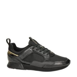 Maxi  leren sneakers zwart