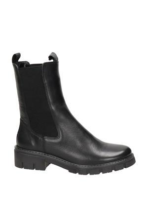 Dover  leren chelsea boots zwart
