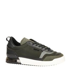 Contra  suède sneakers kaki