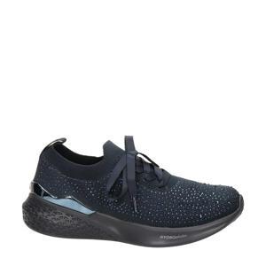 comfort sneakers blauw