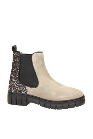 suède chelase boots beige