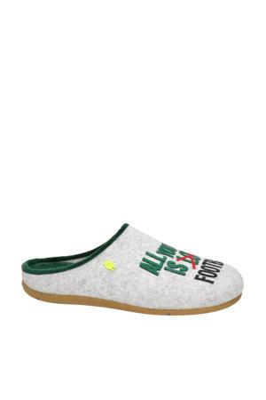 pantoffels grijs/multi