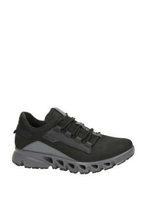 Multi Vent  leren sneakers zwart