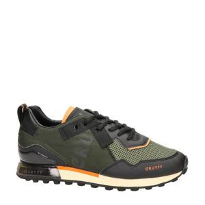 Superbia  sneakers donkergroen