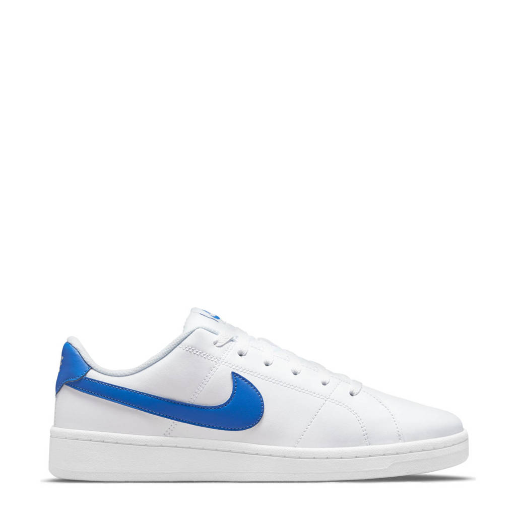 Nike Court Royale 2 sneakers wit/kobaltblauw, Wit/kobaltblauw