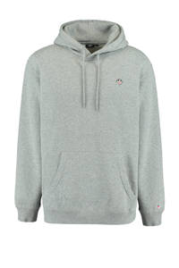 America Today hoodie Silas  dark grey melange, Dark Grey Melange