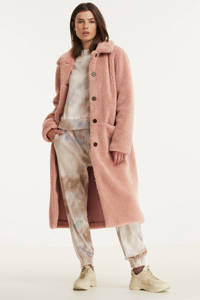 Another-Label teddy winterjas Moussy oudroze, Oudroze