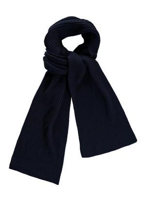 sjaal Alec donkerblauw
