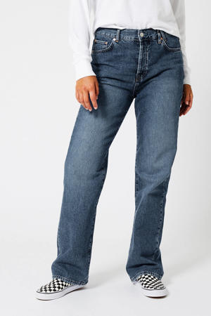 wide leg jeans vintage blue