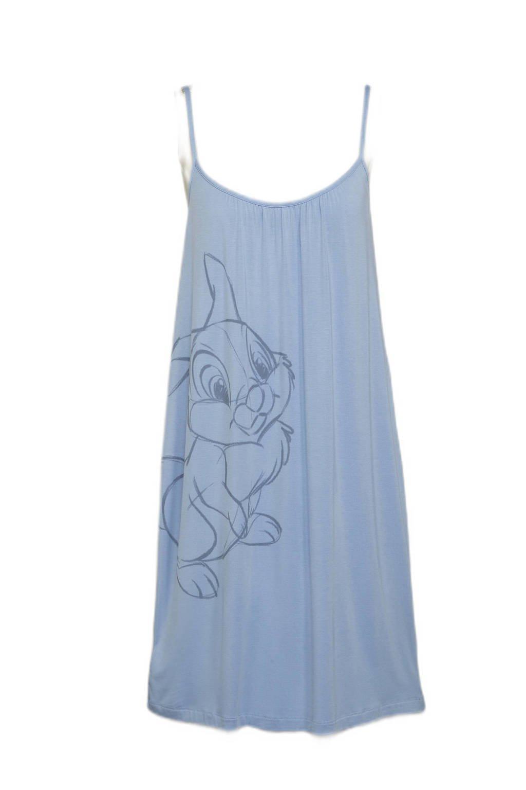 Disney @ C&A slipdress met printopdruk lichtblauw, Lichtblauw