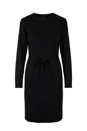 gemêleerde jurk PCCAVA zwart