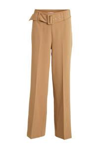 VILA wide leg pantalon VIBLOA bruin, Bruin