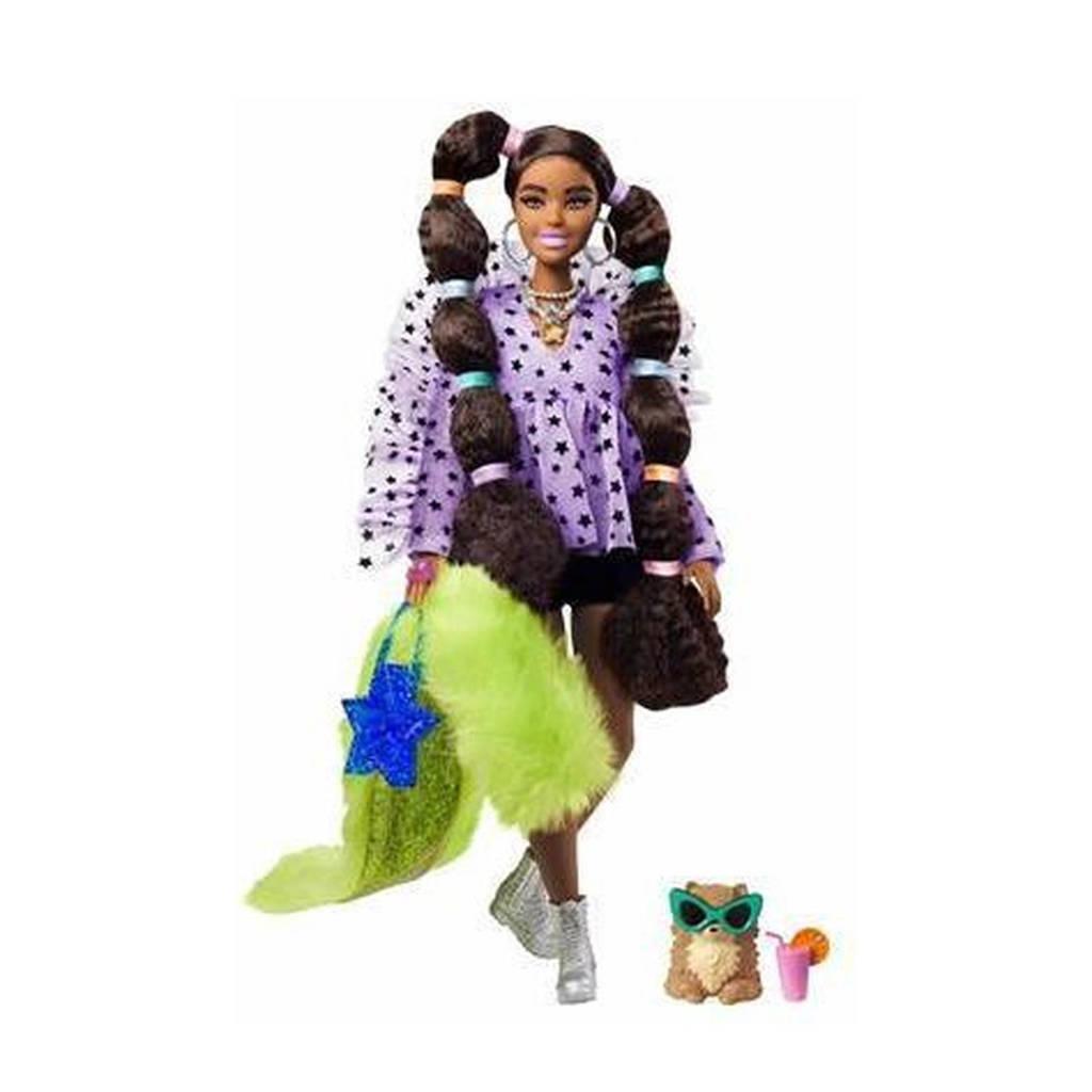 Barbie Extra Doll met paardenstaart met haarelastiekjes