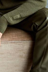 Anna Blue gebreide hoodie groen, Groen