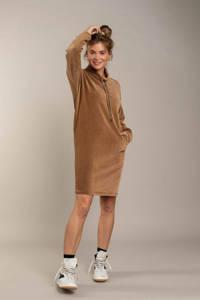 Anna Blue jurk bruin, Bruin