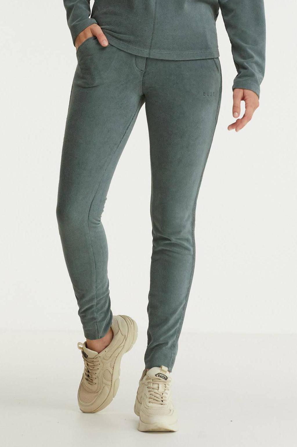 Anna Blue regular fit broek grijs, Grijs