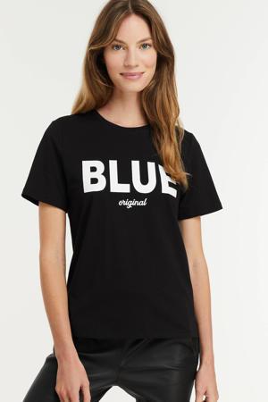 T-shirt met printopdruk off white