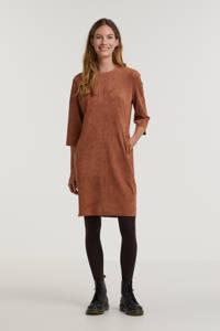 Anna jurk bruin, Bruin
