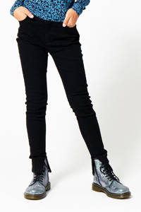 CoolCat Junior skinny jeans Kaya  zwart, Zwart