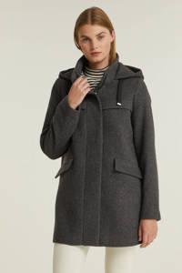 edc Women jas met wol grijs, Grijs