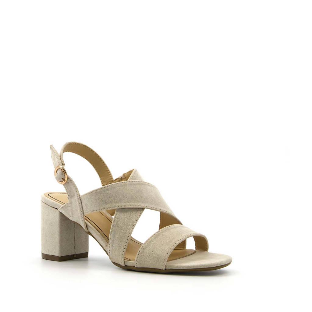 Scapino Blue Box   sandalettes beige, Beige