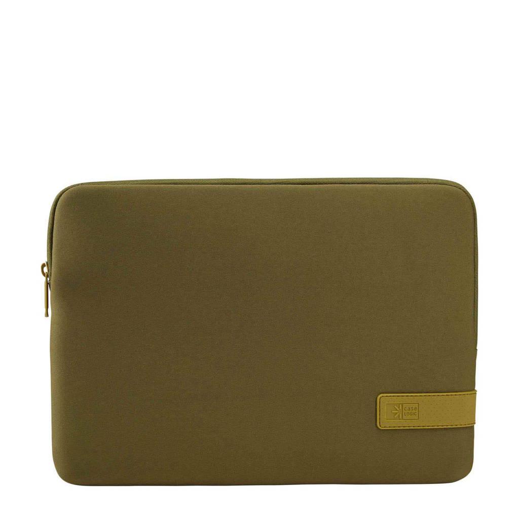 Case Logic Reflect 13 inch laptop sleeve (groen), Groen