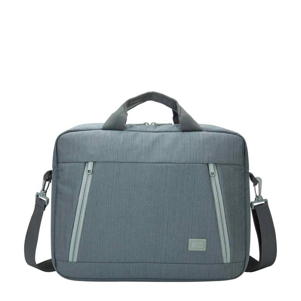 Case Logic Huxton Attaché 14 laptoptas (blauwgrijs), Blauwgrijs