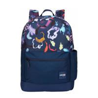 Case Logic Campus Commence 15.6 laptoptas (Floral), Blauw/paars