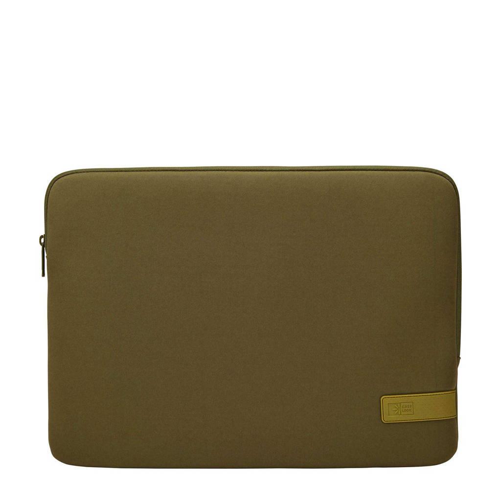 Case Logic Reflect 15.6 laptop sleeve (groen), Groen