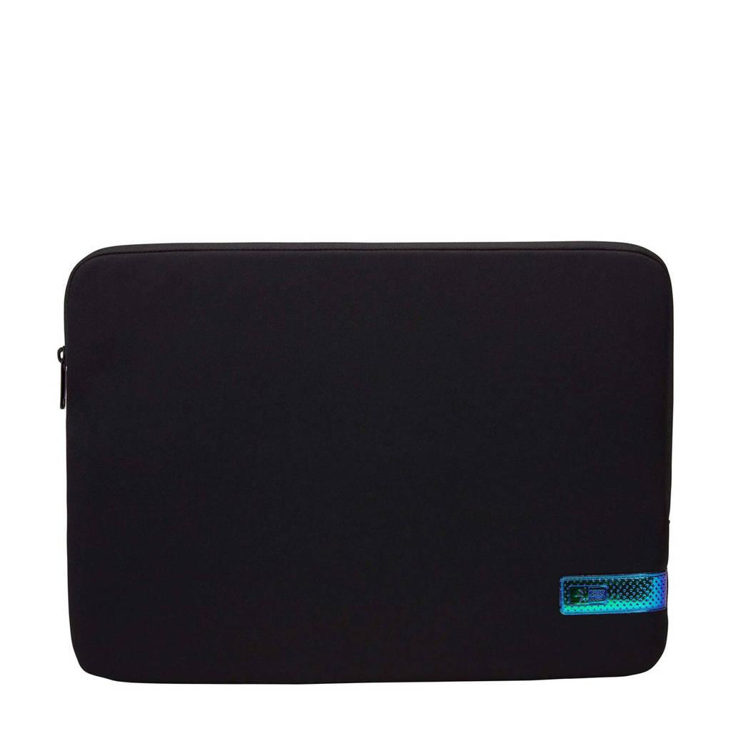 Case Logic Reflect 15.6 inch laptop sleeve (zwart/grijs), Zwart/grijs