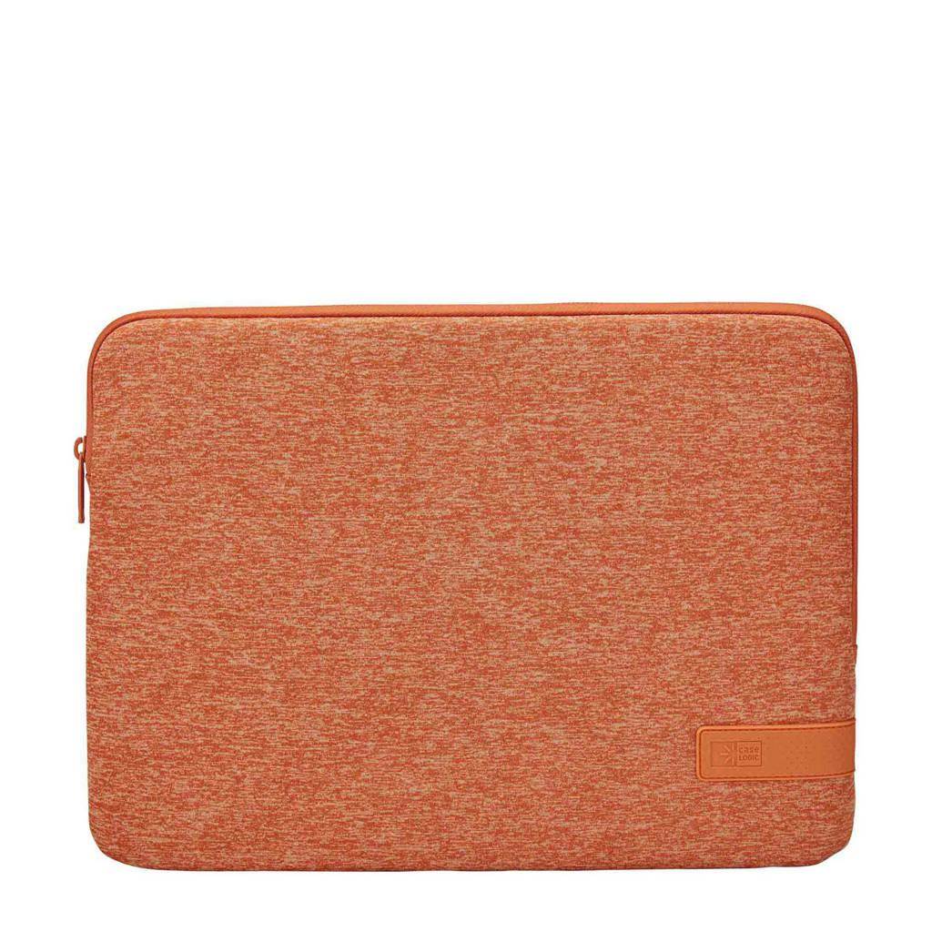 Case Logic Reflect 14 inch laptop sleeve (oranje), Oranje