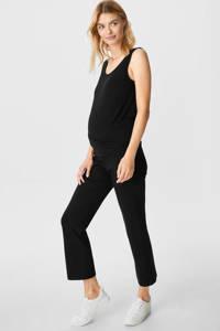 C&A loose fit broek zwart, Zwart