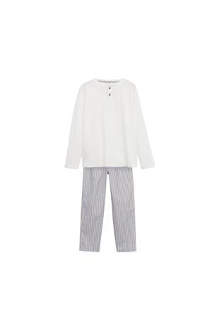 pyjama naturel wit